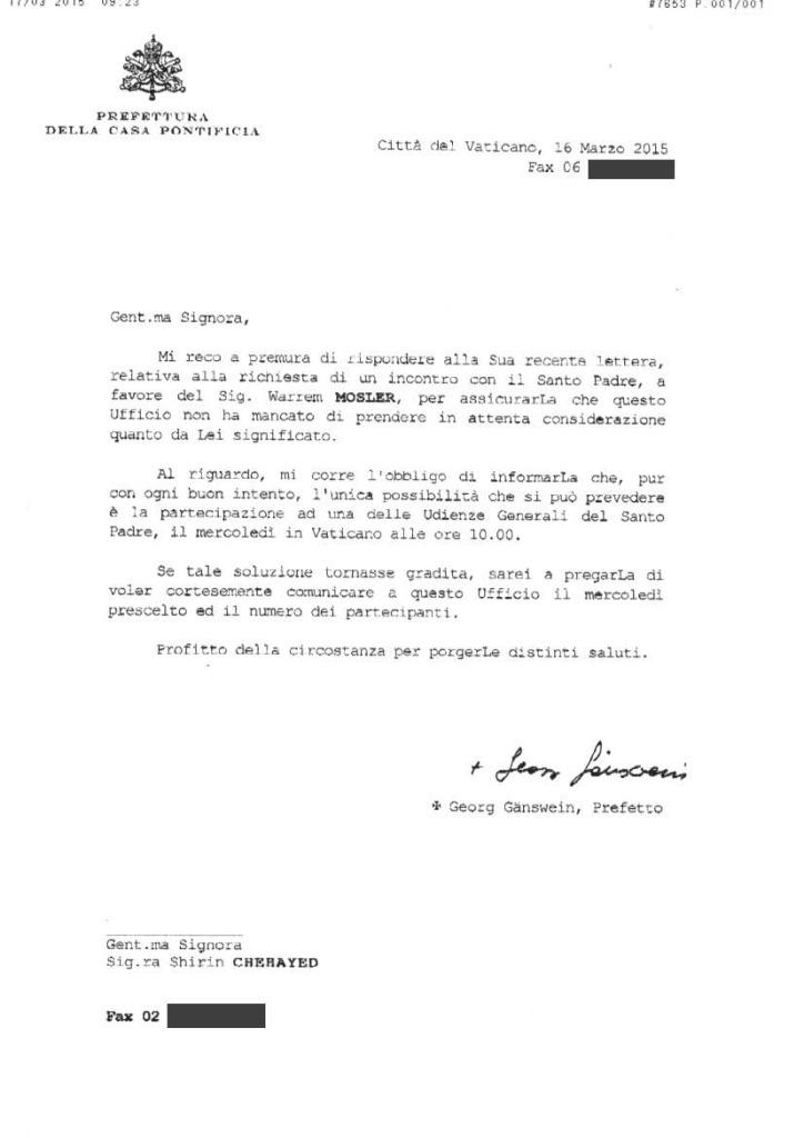 Fax-Vaticano